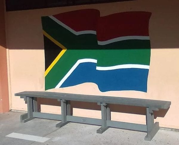 Recycled Plastic Single Bench