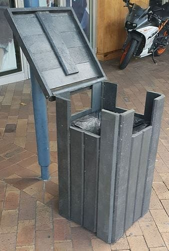 Letterbox Recycled Plastic Bin